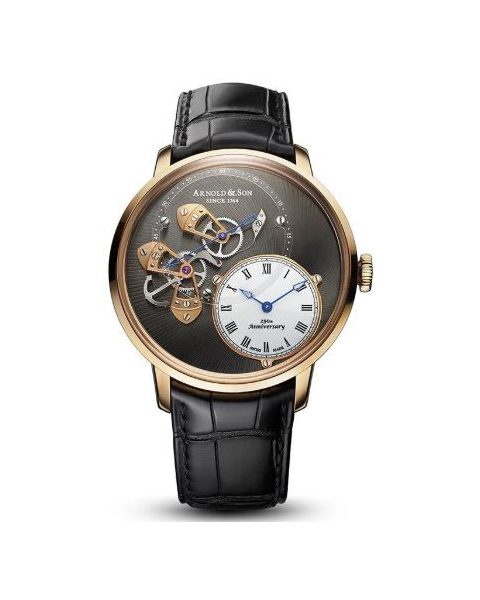 ARNOLD & SON DSTB 43.5MM 18KT ROSE GOLD LIMITED EDITION 50 PIECES MEN'S WATCH