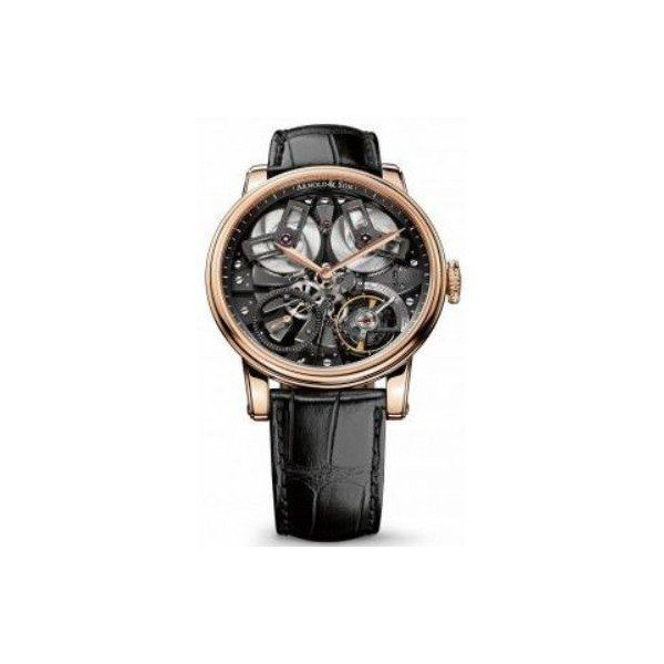 ARNOLD & SON TB88 46MM 18KT ROSE GOLD MEN'S WATCH