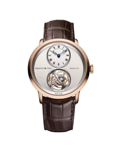 ARNOLD & SON UTTE TOURBILLON INSTRUMENT 42MM 18KT ROSE GOLD LIMITED EDITION TO 50 PIECES MEN'S WATCH
