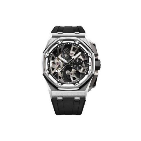AUDEMARS PIGUET ROYAL OAK OFFSHORE TOURBILLON CHRONOGRAPH LIMITED EDITION 50 PIECES 45MM STAINLESS STEEL MEN'S WATCH