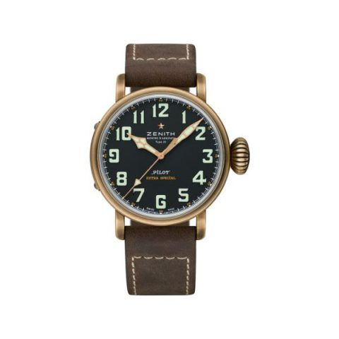 ZENITH PILOT TYPE 20 45MM BRONZE MEN'S WATCH