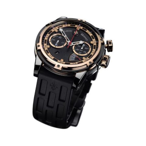 LOUIS MOINET JULES VERNE INSTRUMENT III 46MM STAINLESS STEEL LIMITED EDITION 365 PIECES MEN'S WATCH