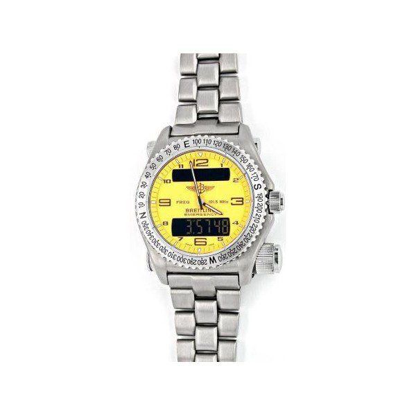 BREITLING EMERGENCY TITANIUM 43MM MEN'S WATCH