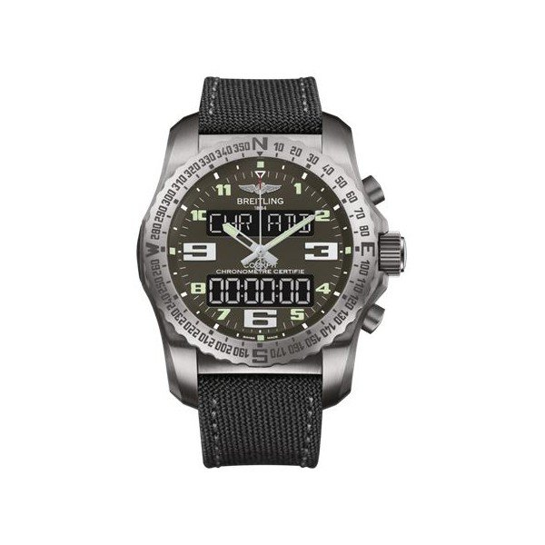 BREITLING PROFESSIONAL COCKPIT B50 TITANIUM GRAY 46MM MEN'S WATCH