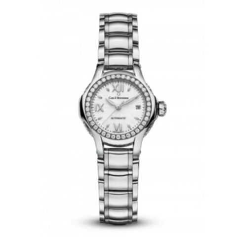 Carl F. Bucherer Pre-owned Pathos Queen 27mm Stainless Steel/18kt Rose Gold Ladies Watch