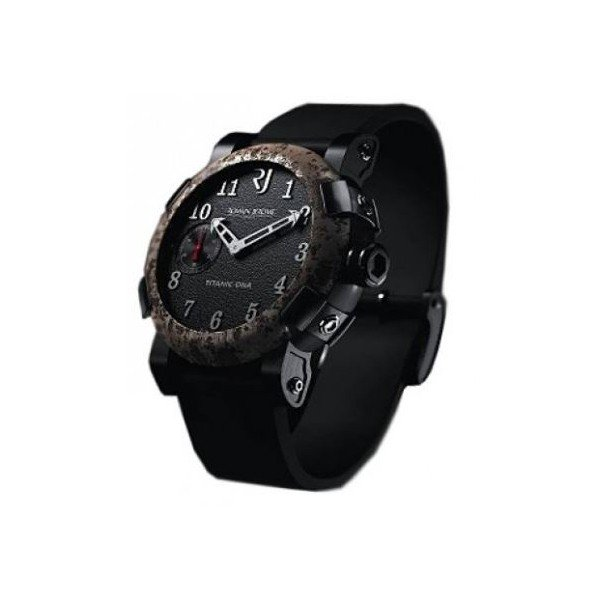 ROMAIN JEROME TITANIC DNA CHRONO OXY STEEL 50MM STAINLESS STEEL & BLACK PVD MEN'S WATCH