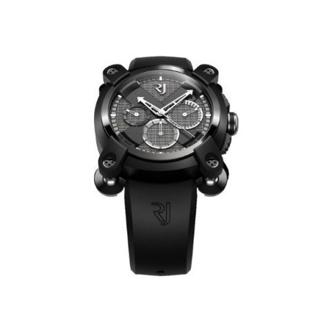ROMAIN JEROME MOON INVADER CHRONOGRAPH 46MM BLACK PVD COATED STEEL LIMITED EDITION 1969 PIECES MEN'S WATCH