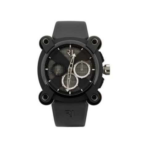 ROMAIN JEROME MOON DNA MOON INVADER SPEED METAL CHRONOGRAPH 46MM BLACK PVD COATED STEEL MEN'S WATCH