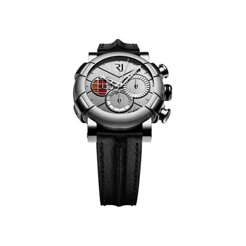 ROMAIN JEROME DELOREAN-DNA CHRONOGRAPH 46MM STAINLESS STEEL MEN'S WATCH
