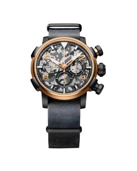 ROMAIN JEROME CAPSULES NOSE ART DNA 46MM PVD 18KT ROSE GOLD MEN'S WATCH