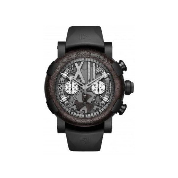 ROMAIN JEROME STEAMPUNK 100TH ANNIVERSARY CHRONOGRAPH 50MM STAINLESS STEEL MEN'S WATCH