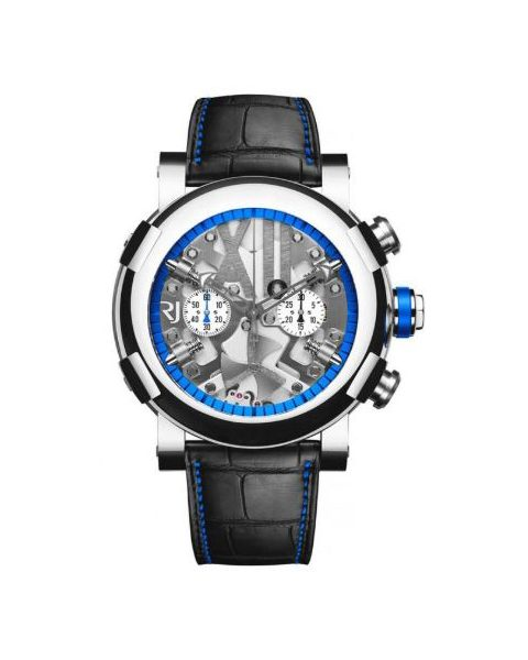 ROMAIN JEROME STEAMPUNK CHRONOGRAPH 50MM STAINLESS STEEL MEN'S WATCH
