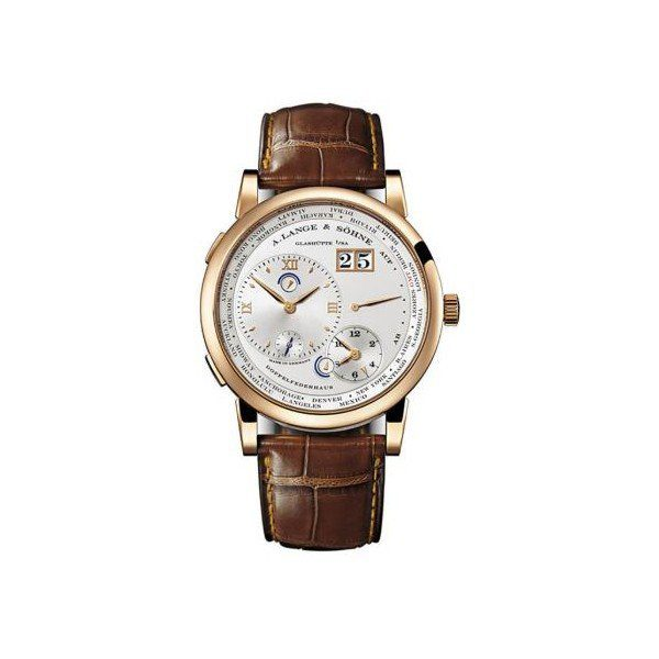 A. LANGE & SOHNE 1 TIME ZONE 41.9MM 18KT ROSE GOLD MEN'S WATCH