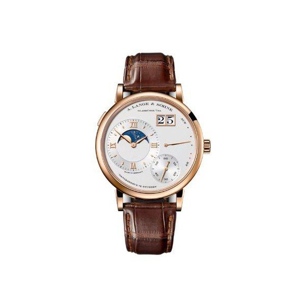 A. LANGE & SOHNE LANGE 1 MOON PHASE 41MM 18KT ROSE GOLD MEN?S WATCH