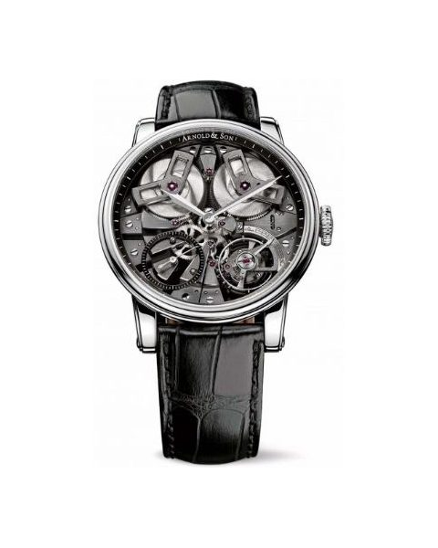 ARNOLD & SON TB88 46MM STAINLESS STEEL MEN'S WATCH