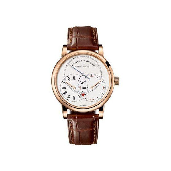 A. LANGE & SOHNE RICHARD LANGE 39.9MM 18KT ROSE GOLD MEN'S WATCH