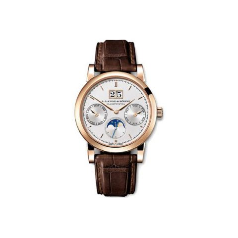 A. LANGE & SOHNE SAXONIA ANNUAL CALENDAR 38.5MM 18KT ROSE GOLD MEN'S WATCH
