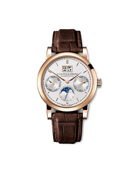 A. LANGE & SOHNE SAXONIA ANNUAL CALENDAR 38.5MM 18KT ROSE GOLD MEN?S WATCH