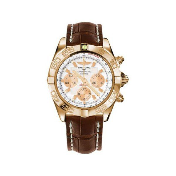 BREITLING CHRONOMAT 44MM 18KT ROSE GOLD MEN'S WATCH