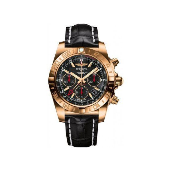BREITLING CHRONOMAT GMT 44MM 18KT ROSE GOLD LIMITED EDITION MEN'S WATCH