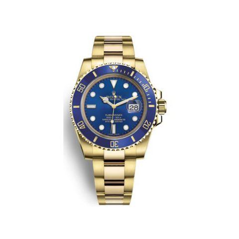 ROLEX OYSTER PERPETUAL SUBMARINER DATE 40MM 18KT YELLOW GOLD MEN'S WATCH