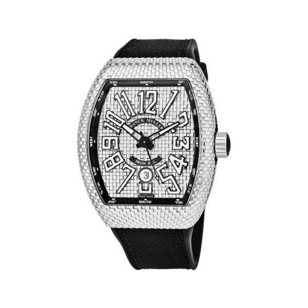 FRANCK MULLER VANGUARD PXL IRON 43MM STAINLESS STEEL MEN'S WATCH