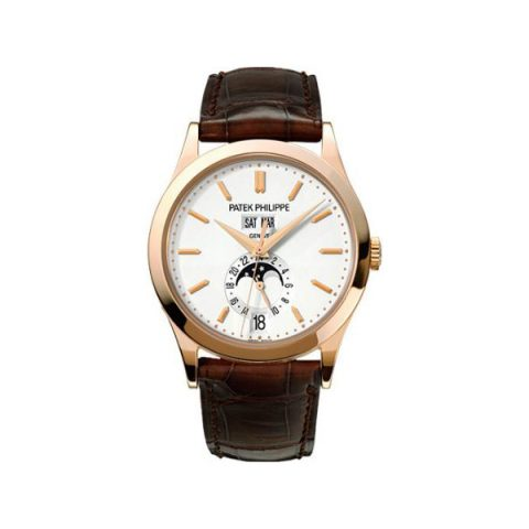 PATEK PHILIPPE ANNUAL CALENDAR COMPLICATED 38MM 18KT ROSE GOLD MEN'S WATCH