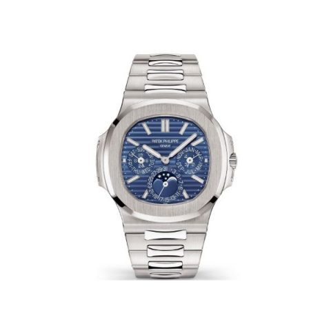 PATEK PHILIPPE NAUTILUS PERPETUAL CALENDAR 18KT WHITE GOLD MEN'S WATCH REF. 5740/1G-001