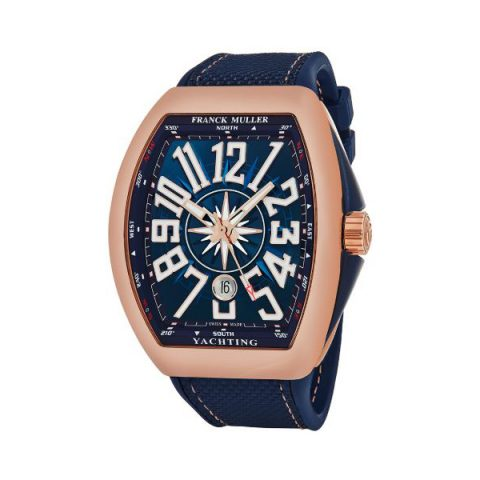 FRANCK MULLER VANGUARD YACHTING 45MM 18KT ROSE GOLD MEN'S WATCH