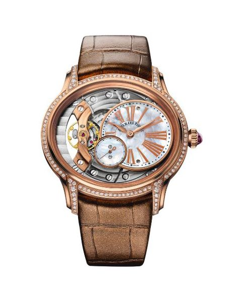 Audemars Piguet Pre-owned Millinary Hand Wound 18kt Rose Gold 39.5mm Ladies Watch