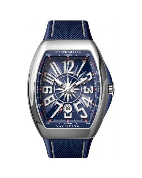 Franck Muller Pre-owned Vanguard Yachting 44mm Stainless Steel Men's Watch