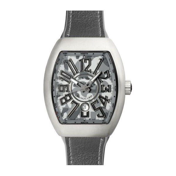 FRANCK MULLER VANGUARD CAMOUFLAGE GRAY 44MM TITANIUM MEN'S WATCH