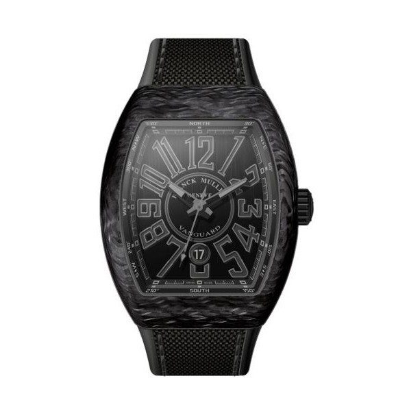 FRANCK MULLER VANGUARD 44MM X 53.7MM CARBON MEN'S WATCH
