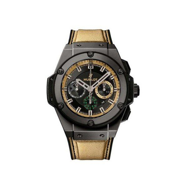HUBLOT KING POWER USAIN BOLT BLACK CHRONOGRAPH 48MM BLACK CERAMIC LIMITED EDITION 250 PCS MEN'S WATCH