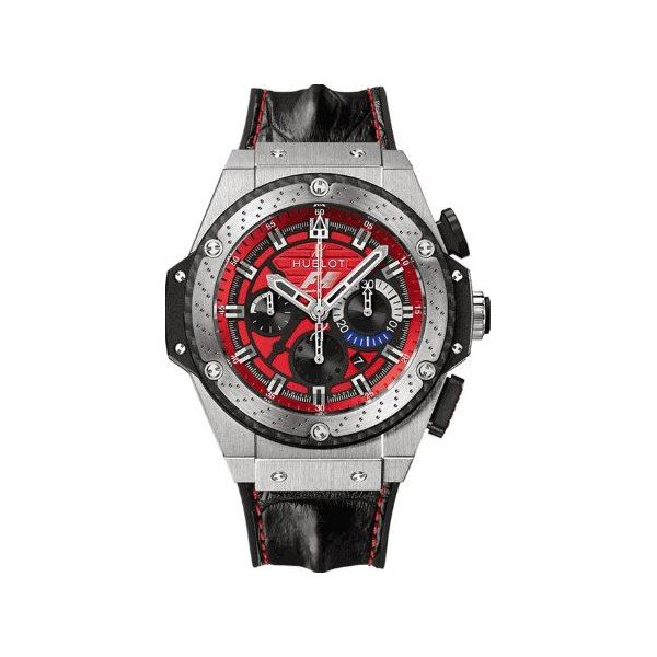HUBLOT KING POWER F1 AUSTIN 48MM TITANIUM LIMITED EDITION OF 250 PCS MEN'S WATCH