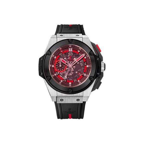 HUBLOT BIG BANG KING POWER UEFA EURO 2012 POLAND LIMITED EDITION OF 500 PCS 48MM TITANIUM MEN'S WATCH