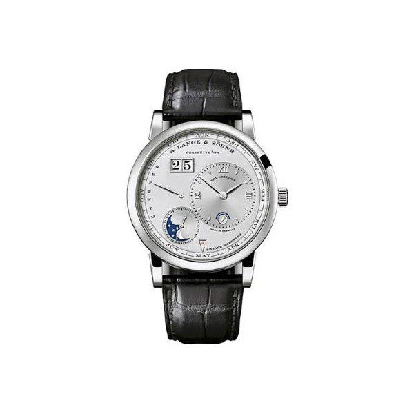 A. LANGE & SOHNE LANGE 1 TOURBILLON PERPETUAL CALENDAR LIMITED EDITION TO 100 PCS 41.9MM PLATINUM MEN'S WATCH