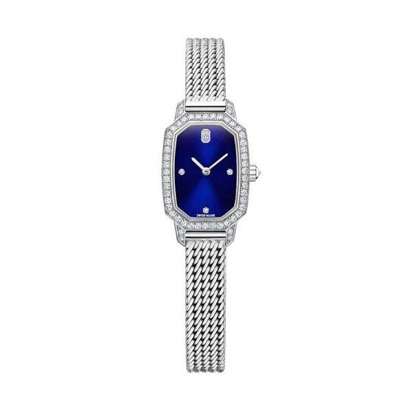 HARRY WINSTON EMERALD 17.75MM X 24MM 18KT WHITE GOLD LADIES WATCH