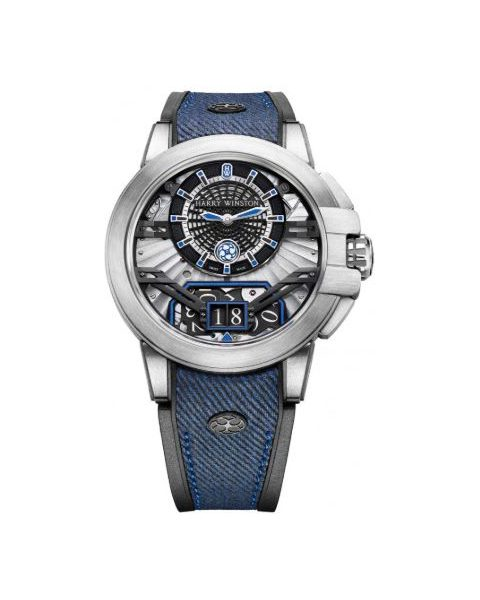 Harry Winston Pre-owned Project Z11 Limited Edition 42mm Zalium Men's Watch