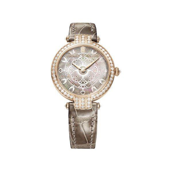 HARRY WINSTON PREMIER LACE 31 18KT ROSE GOLD 36MM LADIES WATCH
