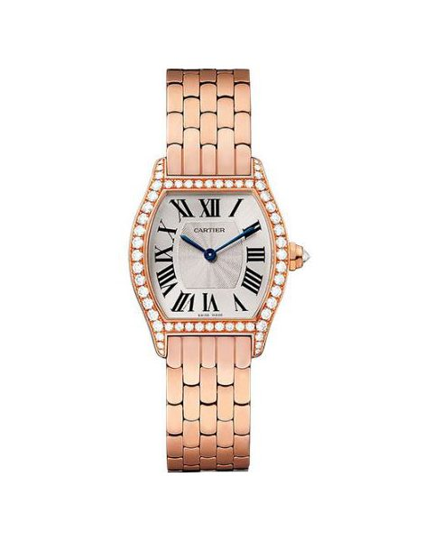 Cartier Pre-owned Tortue 18kt Rose Gold Ladies Watch