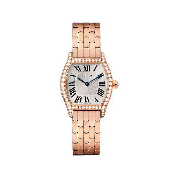 CARTIER TORTUE 30MM X 24MM 18KT ROSE GOLD LADIES WATCH