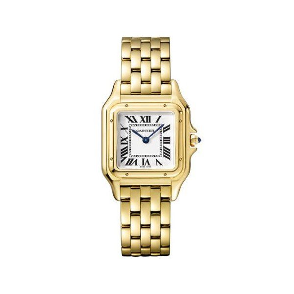 CARTIER PANTHERE DE CARTIER 27MM X 37MM 18KT YELLOW GOLD LADIES WATCH