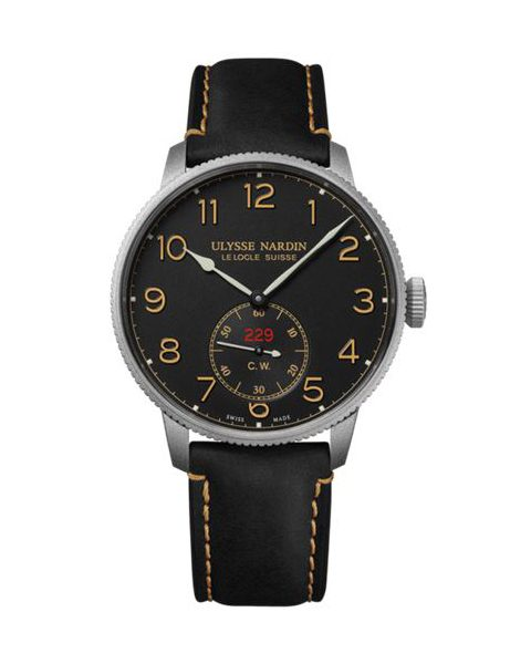 Ulysse Nardin Pre-owned Marine Torpilleur 44mm Stainless Steel Limited Edition To 300 Pieces Men's Watch