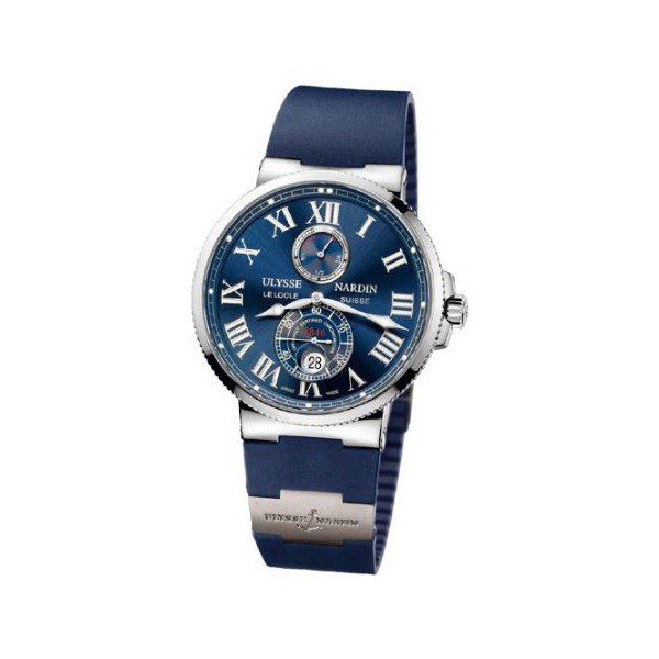 ULYSSE NARDIN MAXI MARINE CHRONOMETER 43MM STAINLESS STEEL MEN'S WATCH