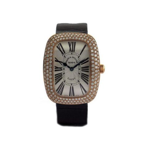 FRANCK MULLER GALET DIAMONDS 47.5MM X 37.7MM 18KT ROSE GOLD LADIES WATCH