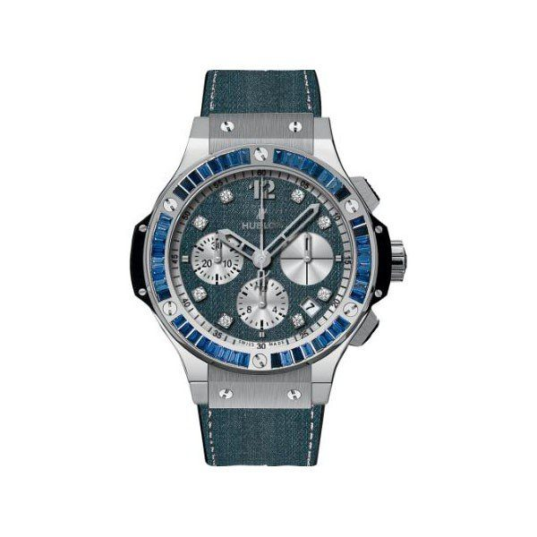 HUBLOT BIG BANG JEANS CARAT LIMITED EDITION OF 250 PIECES 41MM STAINLESS STEEL MEN'S WATCH