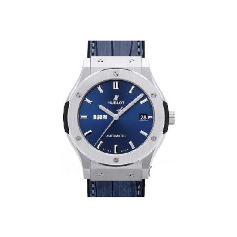 HUBLOT CLASSIC FUSION DUBAI EDITION 45MM TITANIUM MEN'S WATCH