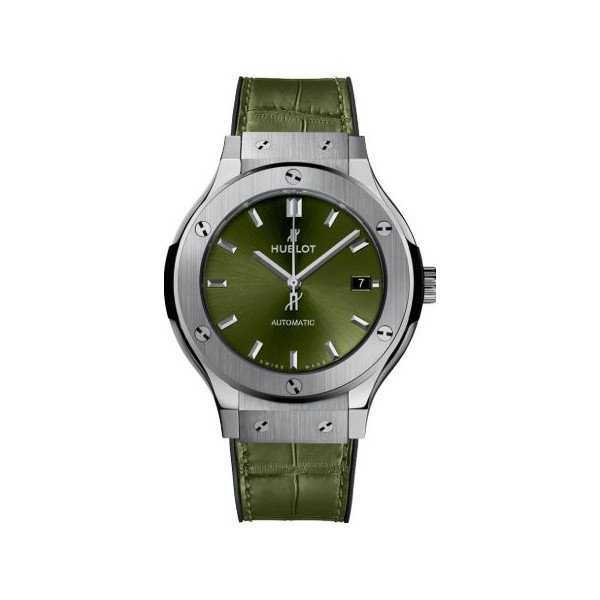 HUBLOT CLASSIC FUSION 38MM TITANIUM MEN'S WATCH