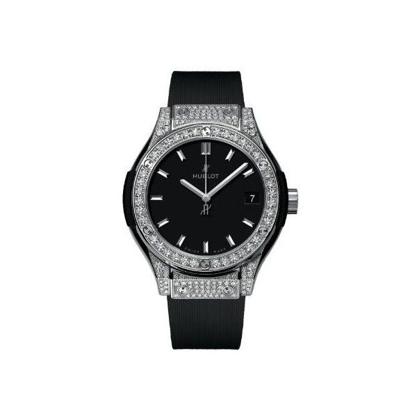 HUBLOT CLASSIC FUSION 33MM TITANIUM LADIES WATCH